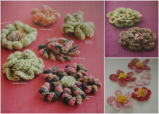 crocheted flower patterns