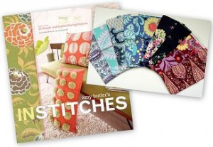 in stitches amy butler love fabric