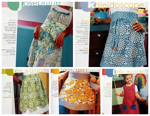 a is for apron pictures samples