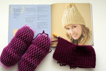 vannas choice yarn and hattitude knitting pattern book
