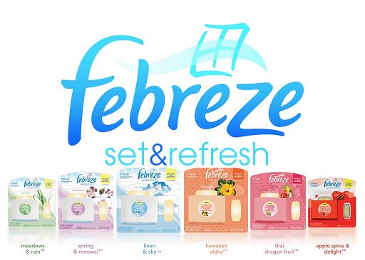 Febreeze set and refresh
