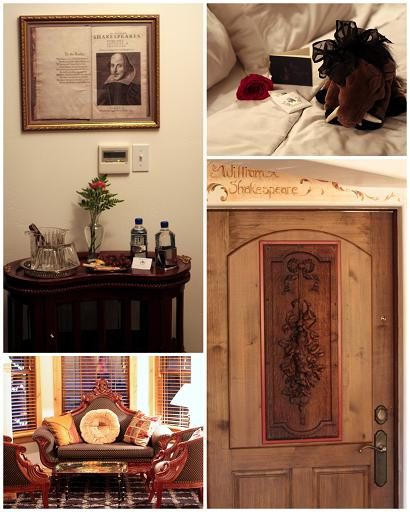 william shakespeare room blue boar inn
