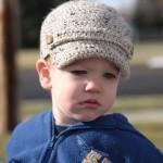 1 newsboy hat