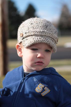 Free Crochet Patternnewsboy Cap Crochet And Knitting Patterns