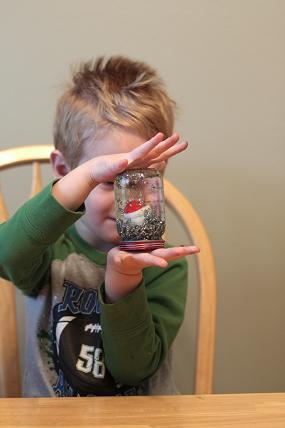 toddler snow globe