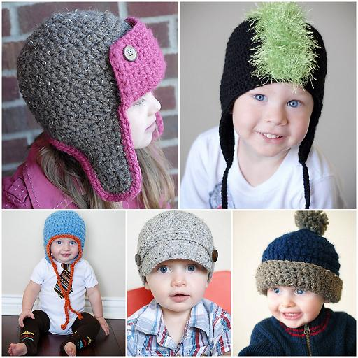 Crochet or knit newsboy cap and hat patterns FREE - Providence