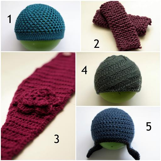 Beginner Hat Knitting Patterns : Handmade Hat/Hats Pattern - Hat Knitting Patterns for Beginners Vanilla Joy