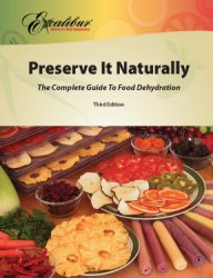 preserve it naturally dehydrator book