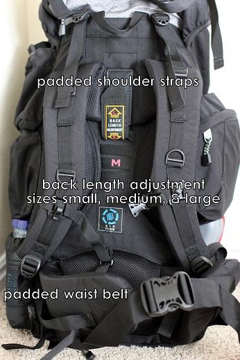 teton explorer 4000 backpack lumbar support