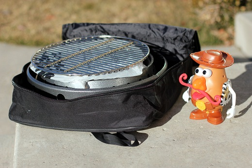 volcano collapsible grill