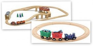 melissa and doug swivel train set giveaway