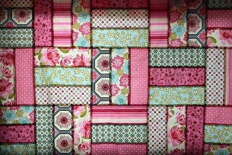 michael miller ginger blossom fabric quilt