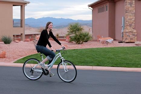 schwinn hybrid midmoor womens bike