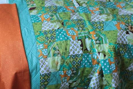 michael miller ginger blossom binding