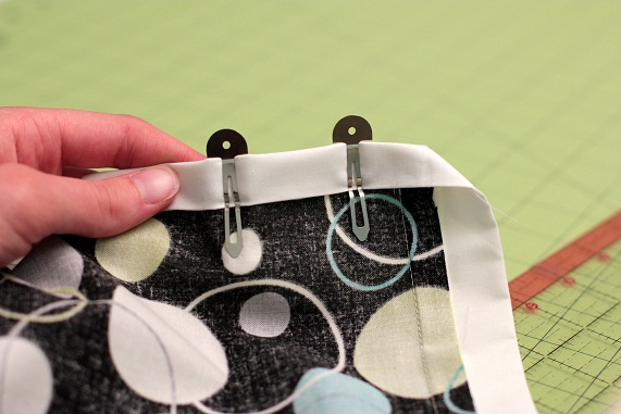 9 mitered corners on quilt binding