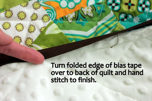 double fold bias tape making how to tutorial