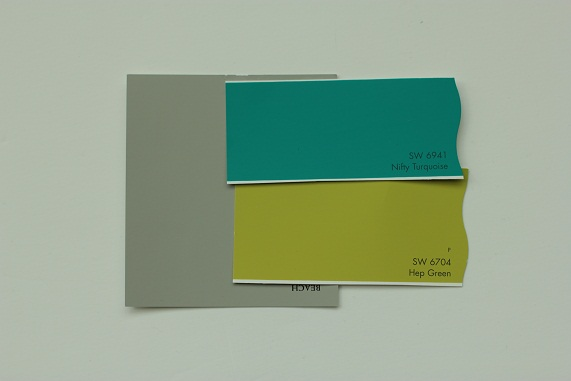nursery decor ideas paint chip palette