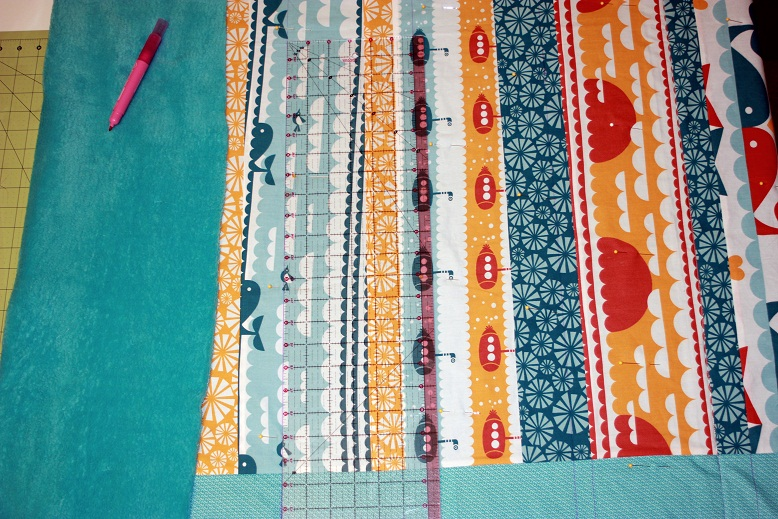 quilting with minky