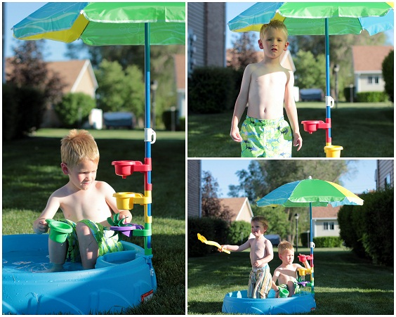 step2 play and shade toddler swimming pool