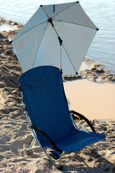 sportbrella beach chair with umbrella