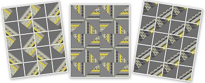 citron gray pattern color