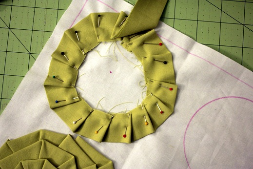 Sewing Tutorial For Pillow Cover: How to Make Accent Throw Pillow Covers   Rosette Pillow Tutorial    ,