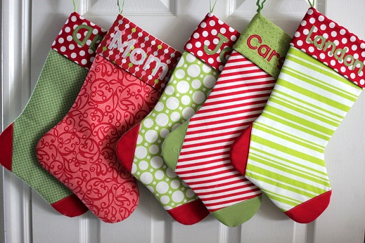 Easy To Make Your Own Christmas Stockings Patterns For Making Classy Quilted Christmas Stocking Pattern