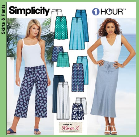 Bias Skirt Sew Along Simplicity 7229 Vanilla Joy