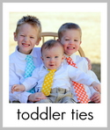 diy toddler ties tutorial