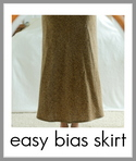 easy bias skirt tutorial