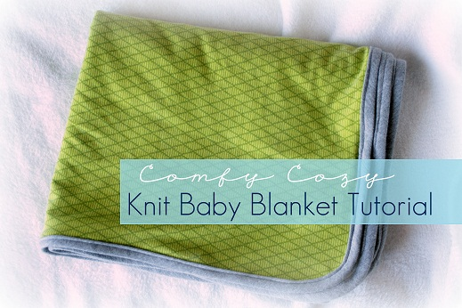 knit baby blanket tutorial