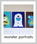 monster portraits tutorial