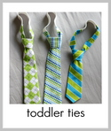 toddler neck tie tutorial