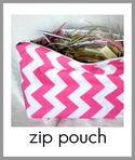 zip pouch tutorial