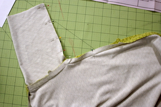sewing a sleeve