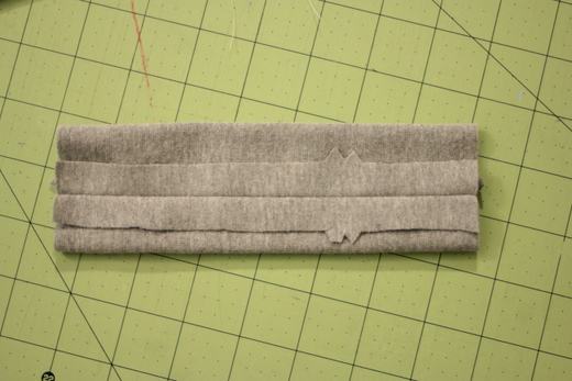 sewing with ribbing