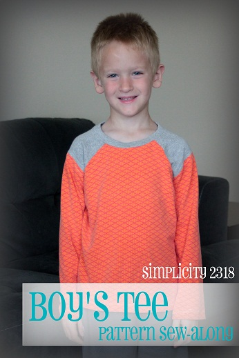 simplicity 2318 sew along boys shirt pattern