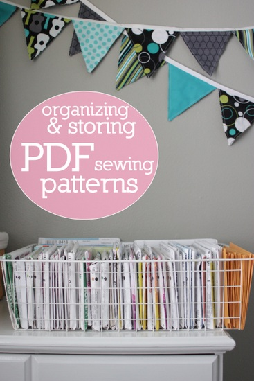 image about Printable Sewing Patterns known as Scheduling Storing PDF Printable Sewing Layouts