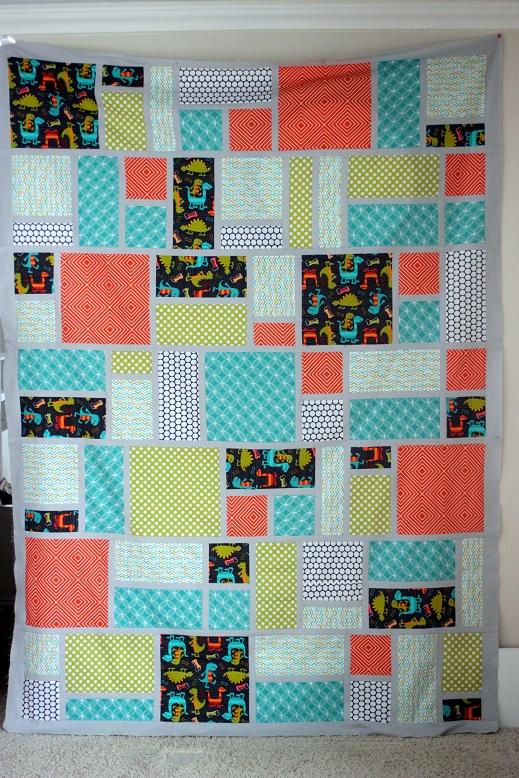 Jack s Blocks Quilt Pattern Vanilla Joy