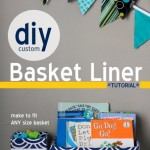 Thumbnail image for *TUTORIAL* DIY Custom Basket Liner