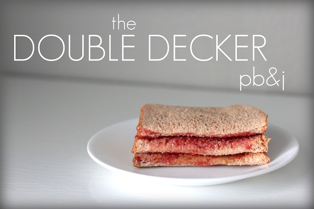 double decker pbj