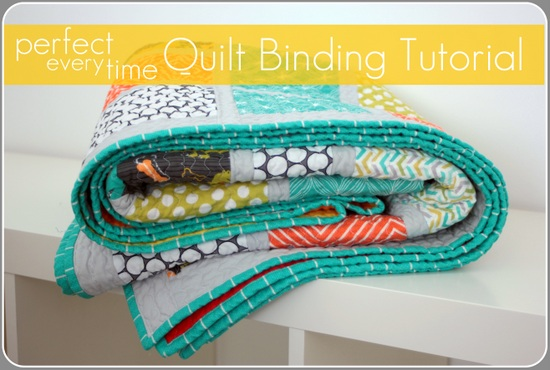 TUTORIAL* Perfect Every Time Quilt Binding | Vanilla Joy : how to sew a quilt binding - Adamdwight.com