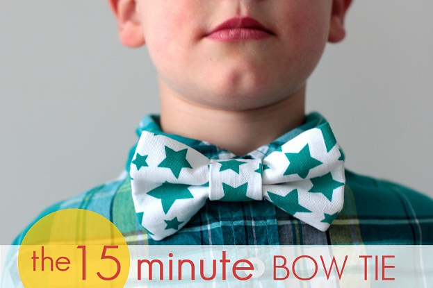 15 minute bow tie