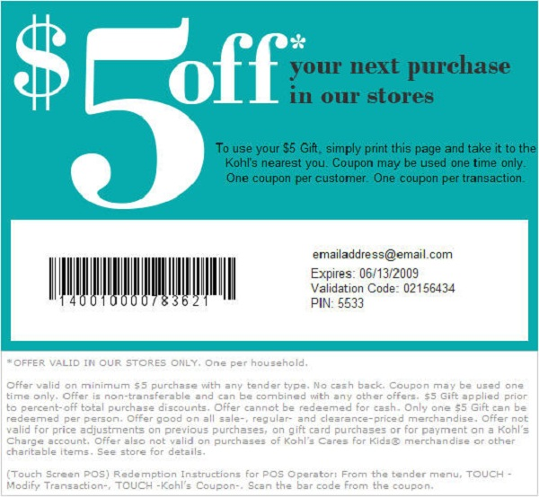 Get free coupons for online shopping