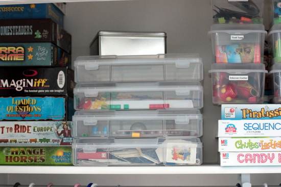 game closet organization tips