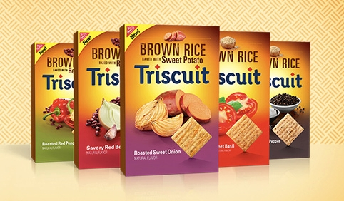 brown rice triscuits flavors