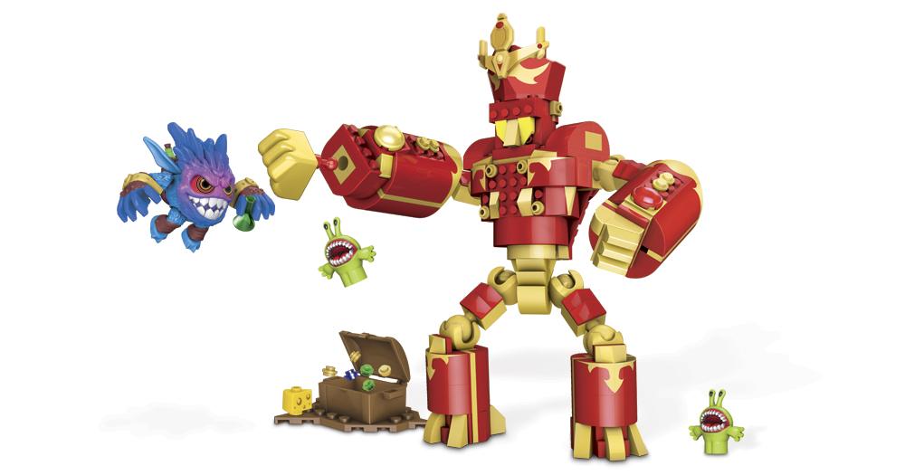 MEGABLOKS ARKEYAN ROBOT KING