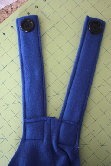 sewing costume overalls