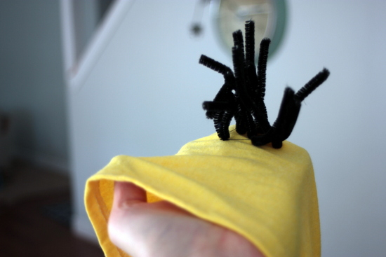 despicable me costume hoodie with hair