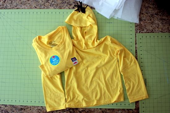 repurpose fabric for halloween costume
